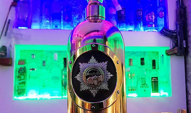 ВКопенгагене нашли пустой самую дорогую вмире бутылку водки
