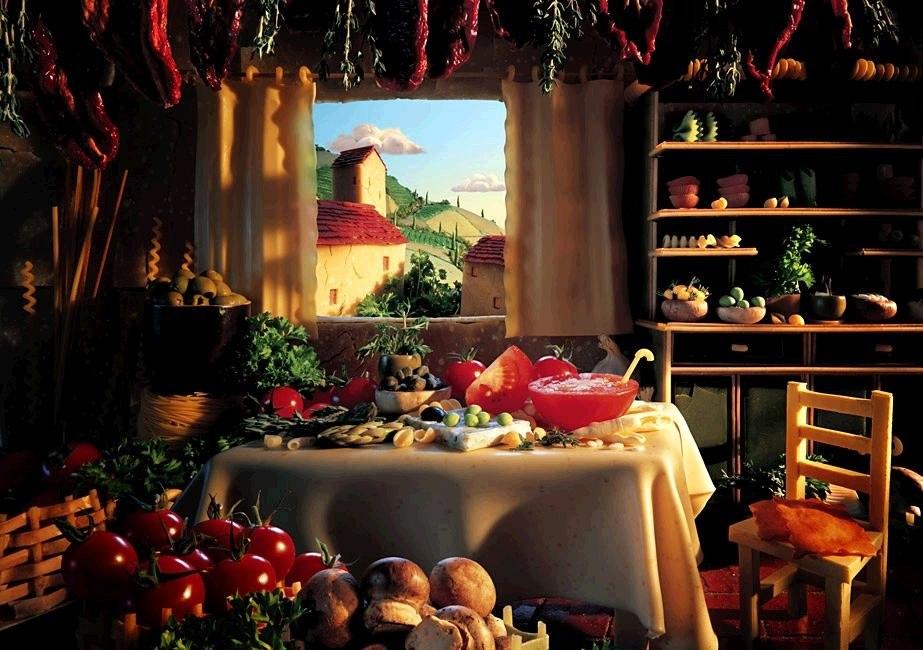 Средиземноморская диета по-гречески