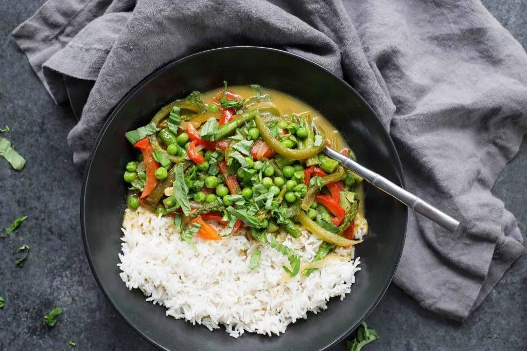 Рис по-тайски с овощами: ингредиенты и рецепт приготовления
