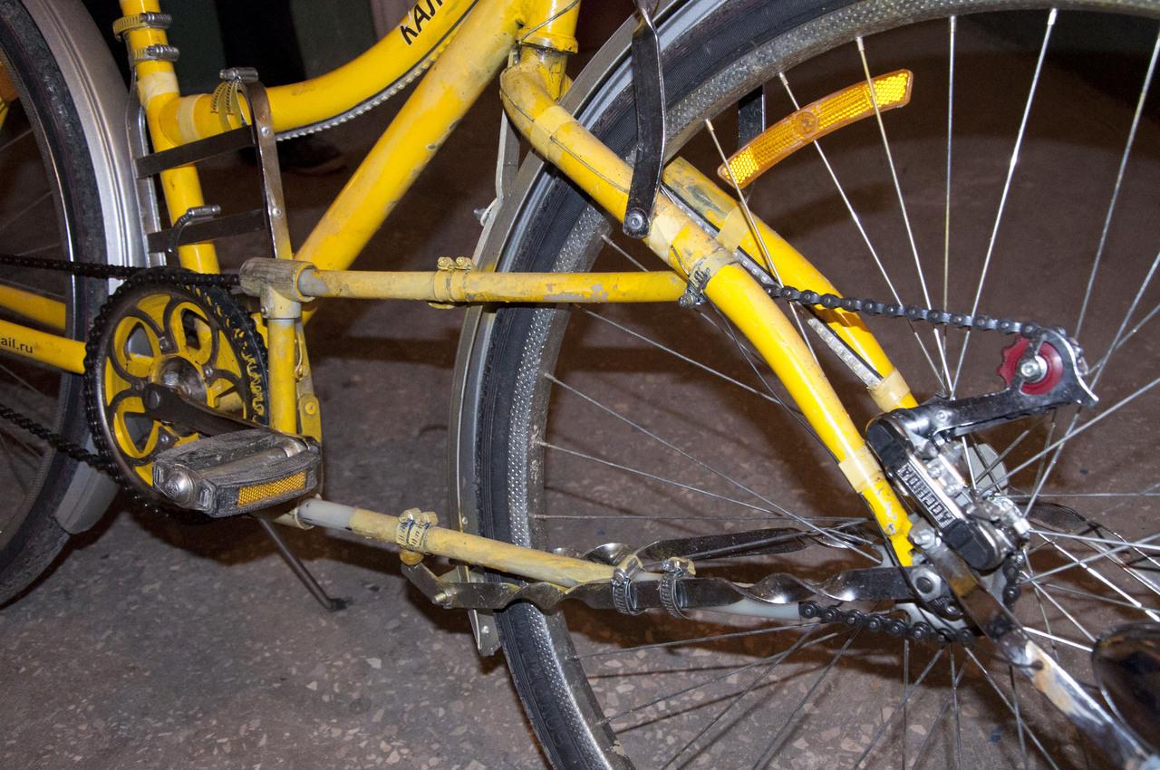 Как сделать колесо на велике