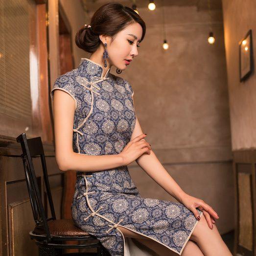 Ципао — оригинальное платье для девушек