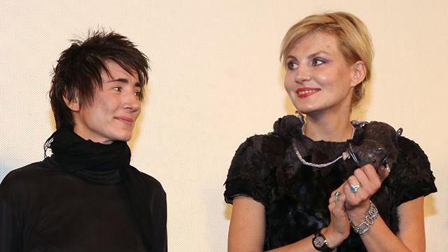 Рената Литвинова и Земфира поженились