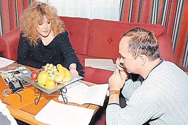 «Вас часто видят с Галкиным». О чем в 2003 году «АиФ» говорил с Пугачёвой