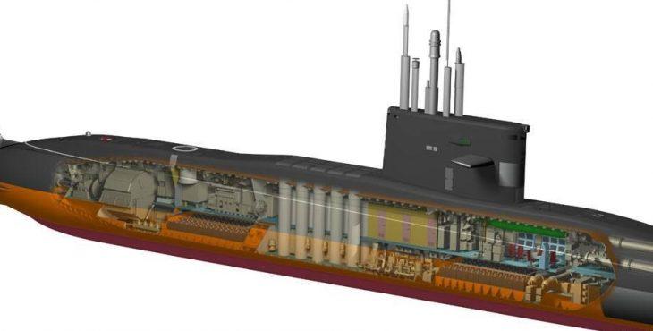 подводными лодка типа лада