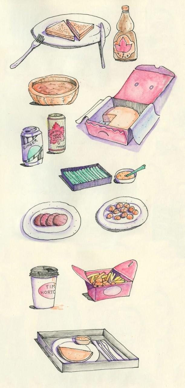 Немного местной еды Любовь, история, комикс, любовь на расстоянии, рисунки, романтика, творчество, художник