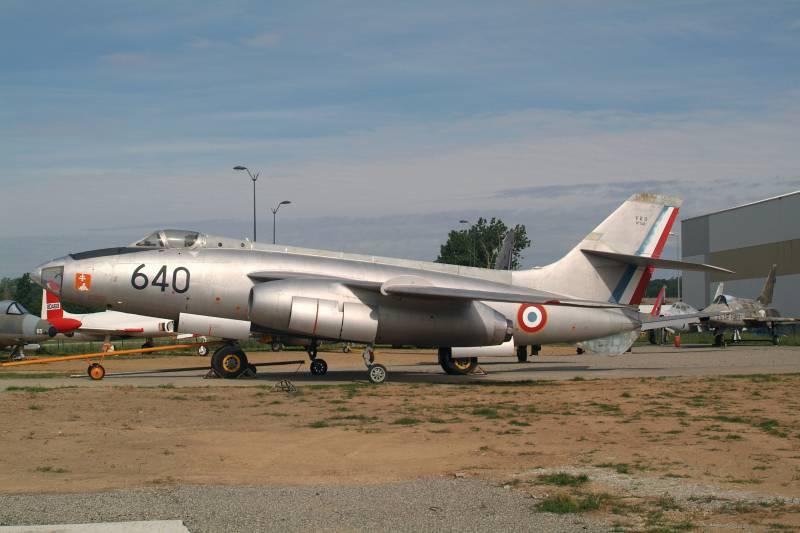 Экспериментальный реактивный бомбардировщик SNCASO SO.4000 Vautour I