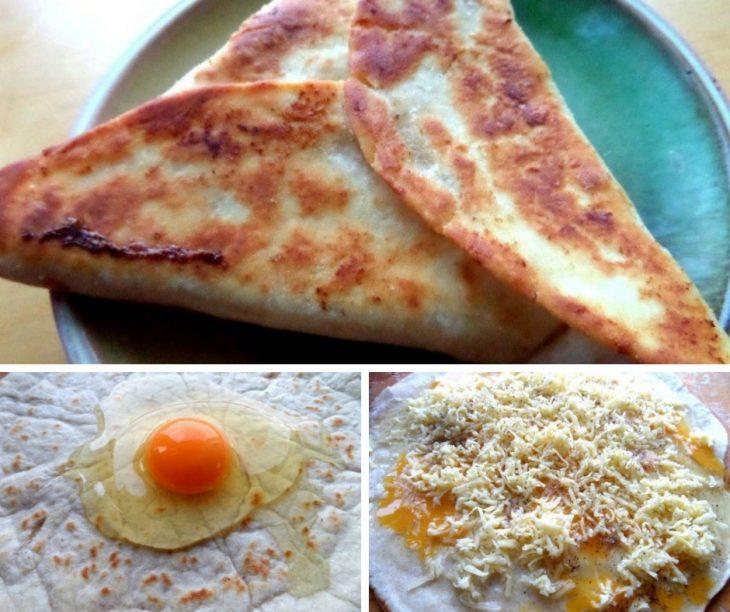Ёка – простая закуска из лаваша