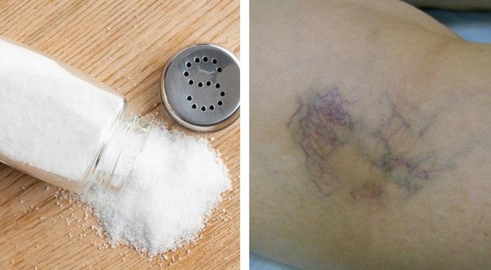 польза соли для кожи лица