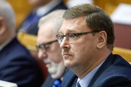 Косачев объяснил сокращение финансовой помощи Украине со стороны США