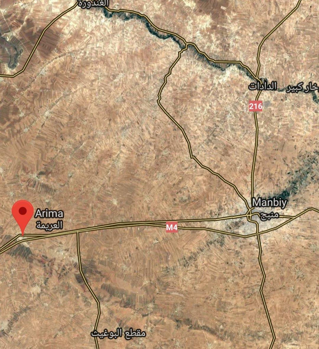 Асад приближается к Манбиджу