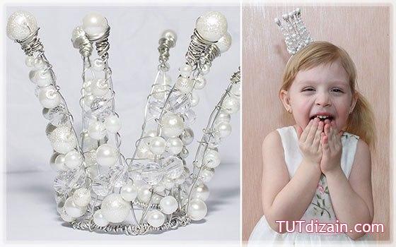 Корона для принцессы. Мастер класс.
