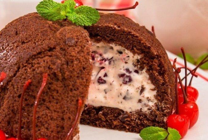 Торт «Цукотто»
