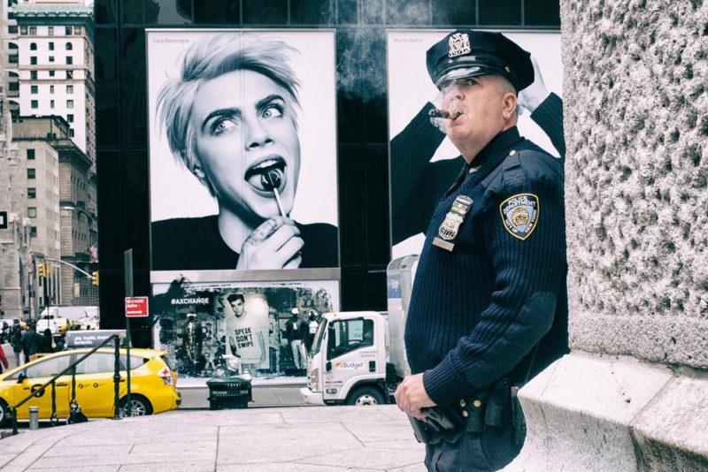 Неожиданные уличные сцены Нью-Йорка и Тель-Авива в объективе мастер стрит-фото Ронен Берка