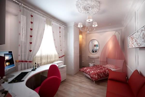 Интерьер детской спальни в современном стиле на 70 фото