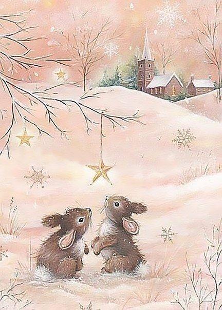 Волшебная зима в добрых иллюстрациях художника Sarah Summers