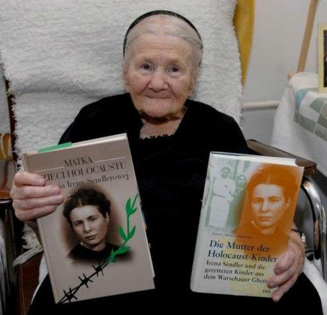 Ирена Сендлер. Женщина спасла более 2500 детей из концлагеря.