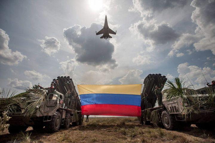 Войска и база РФ в Венесуэле…