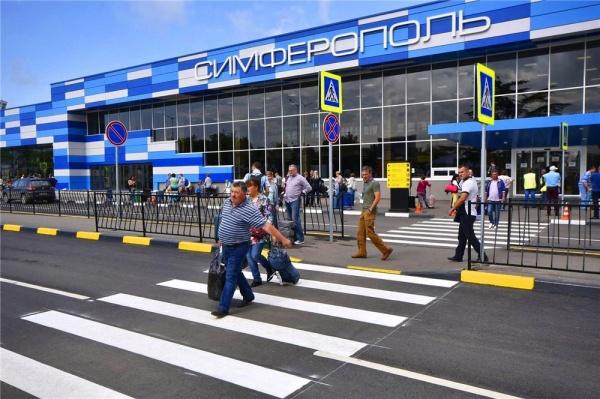 Аэропорт Симферополя в2017 году несмог обновить рекорд пассажиропотока