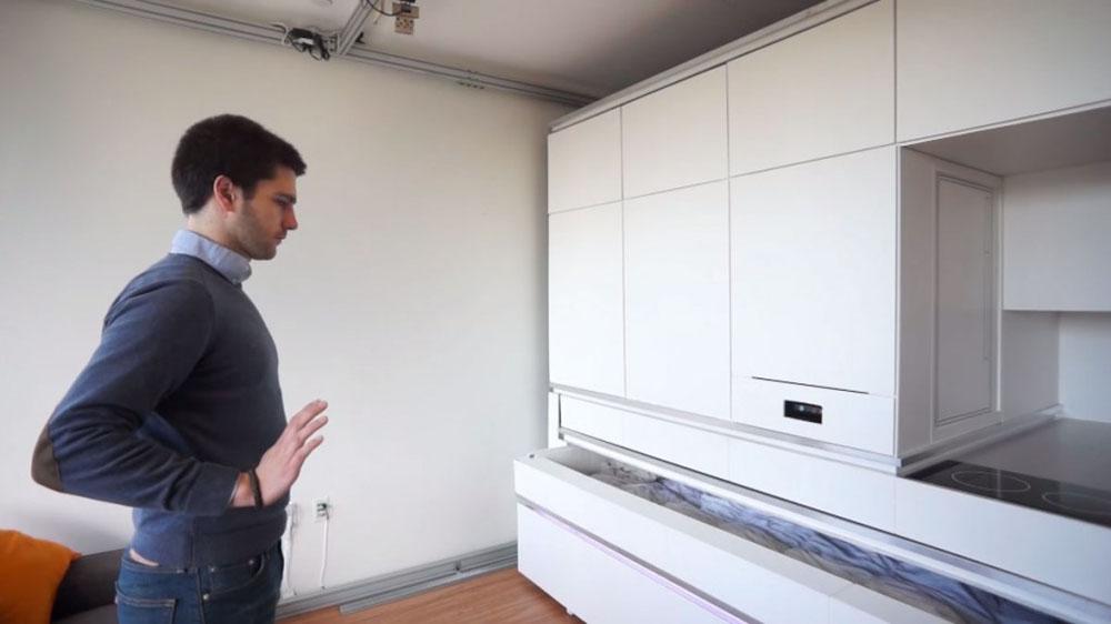 Будущее уже сегодня! Модуль-мебель для небольших квартир