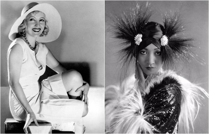 Американские актрисы эпохи джаза.