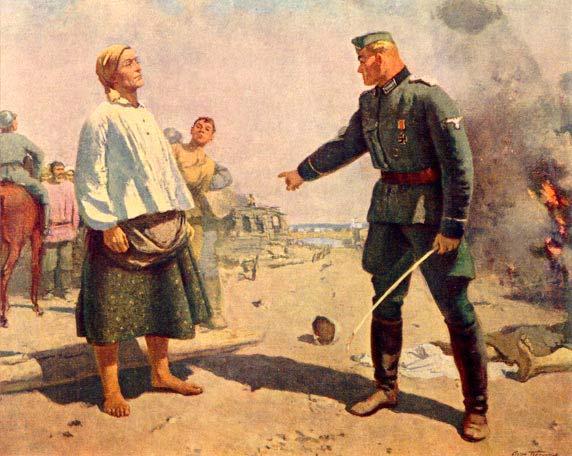 Подборка картин советских художников, посвященных Великой Отечественной войне