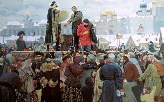 Восстание Пугачёва: кому это было выгодно