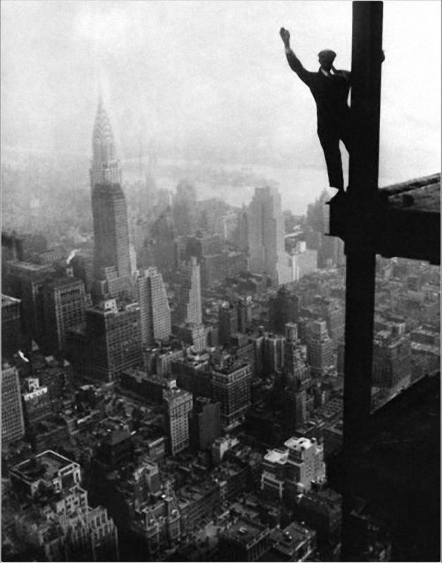 0175 Как строились небоскребы в Нью Йорке