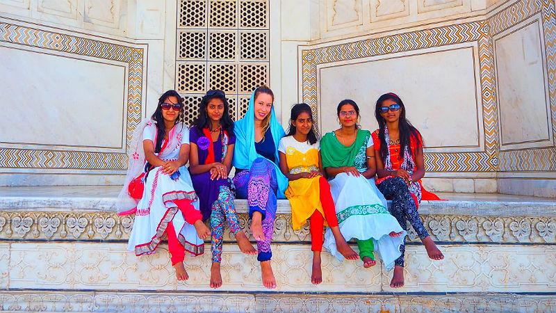 Красивые платья в индийском стиле — достойные богинь, фото № 1