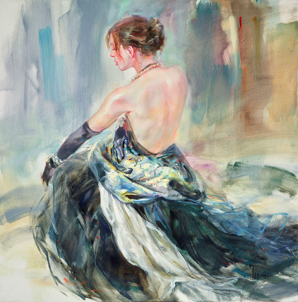 Современная художница Anna Razumovskaya