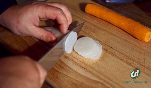 Салат Ростбиф с фунчезой. Пошаговый фото-рецепт.