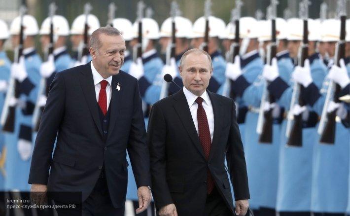 Путин и Эрдоган встретятся на полях саммита БРИКС в Йоханнесбурге