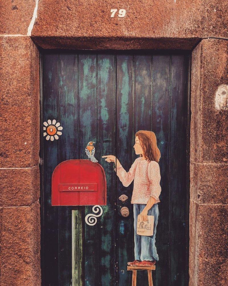 10. дверь, картина, мадейра, португалия, путешествие, фотография, фотомир