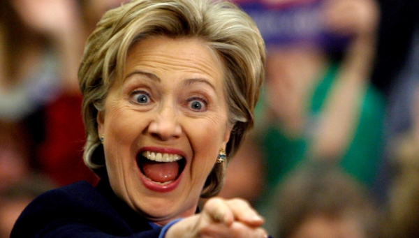 Хиллари Клинтон вновь «спуст…