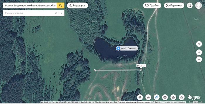 Во Владимирской области исчезло озеро