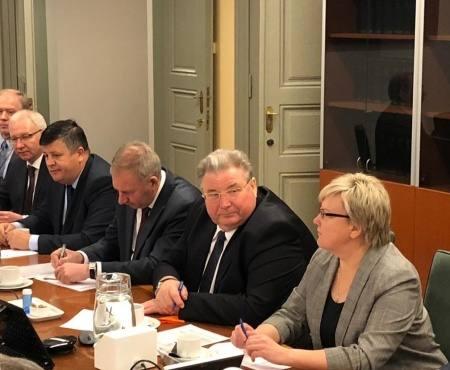Глава Мордовии во главе бизнес-миссии прибыл в Финляндию