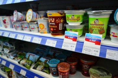 Цены на молочные изделия в ЛНР