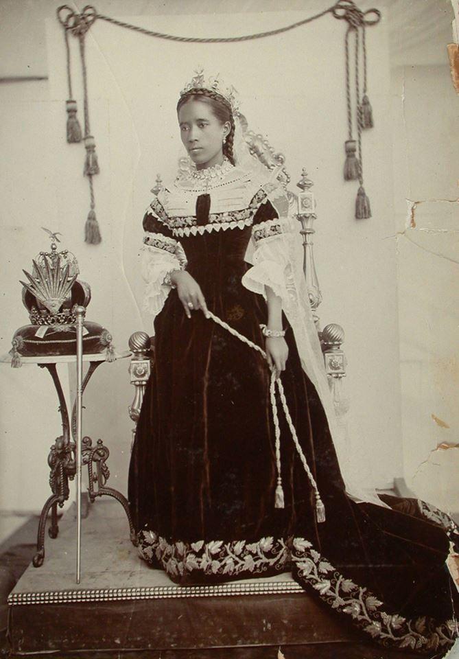 Последняя королева Мадагаска…