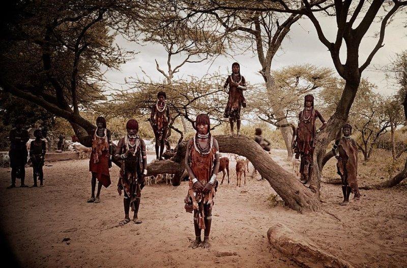 Племена разных стран в объек…