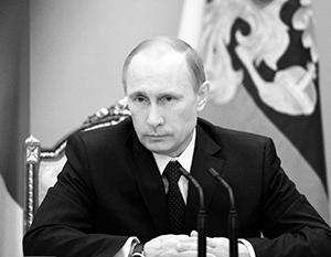 Путин: Режим в Киеве совершил преступление против своего народа