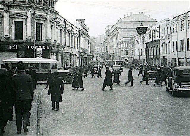 Москва в 1935 году