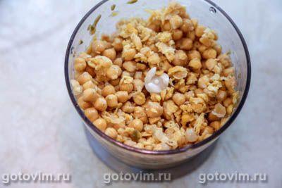 Хумус с оливками, Шаг 03