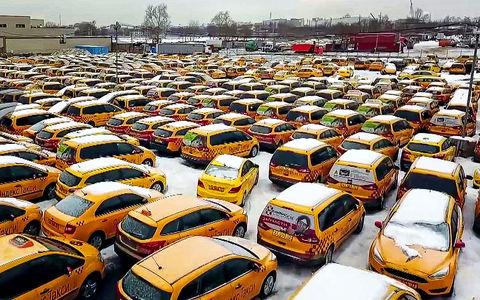 Здесь умирают такси: найдено кладбище таксомоторов