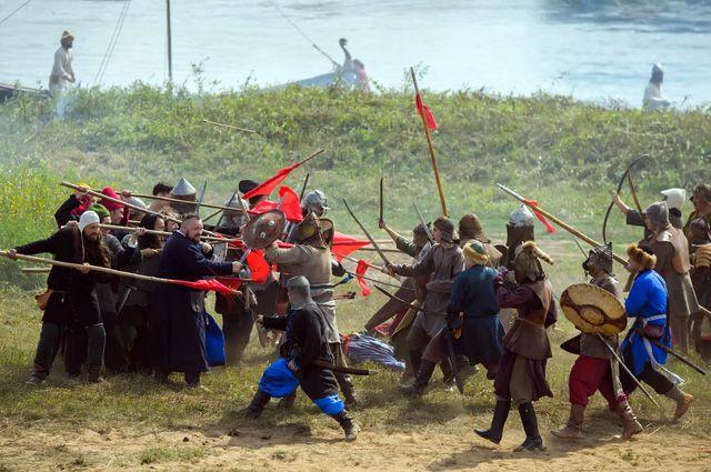 Военно-исторический фестиваль «Великое стояние на реке Угре»