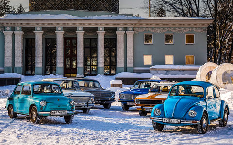 Советские автомобили против иномарок — супертест к юбилею