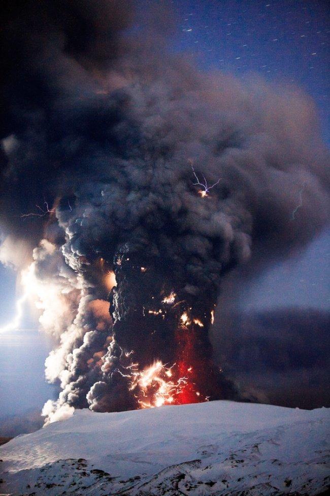 Вулканические молнии наука, пророда, сверхъестественные явления