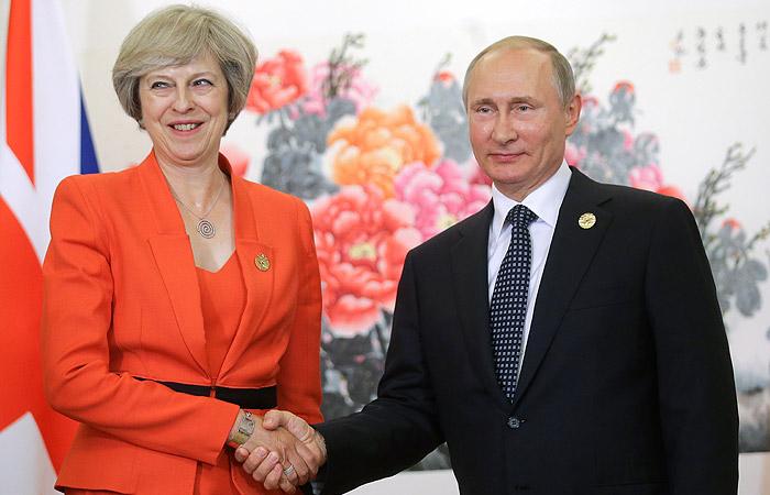 Тереза Мэй верно служит матушке России