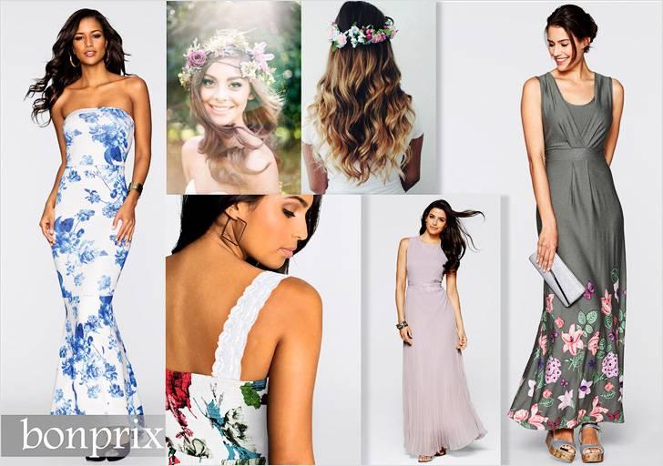 Создайте хрупкий, нежный образ, облачившись в платье с цветочным принтом