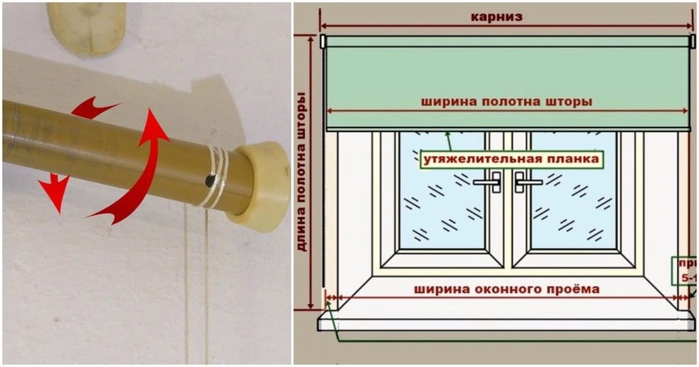 Самый простой и удобный способ сшить рулонные шторы