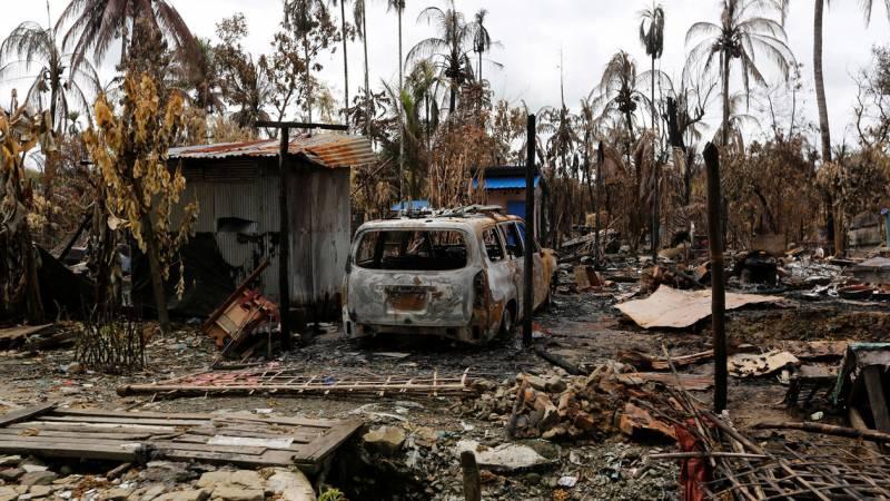 Резня в Мьянме. США продолжают кровавые игры