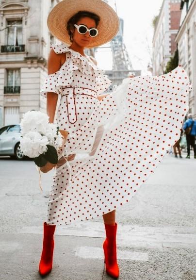 Летняя свежатинка — яркие образы от модниц из разных уголков мира